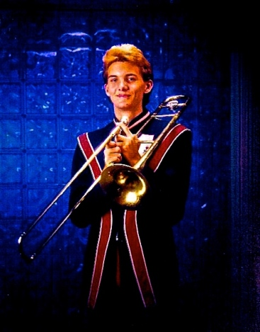 Andy trombone band uniform