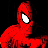 Spiderman headshot