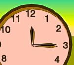 15 minute clock